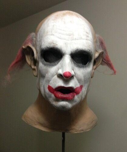 Mr Creepy mask Horror Scary Halloween Mask Clown Vampire Jason Freddy Funhouse