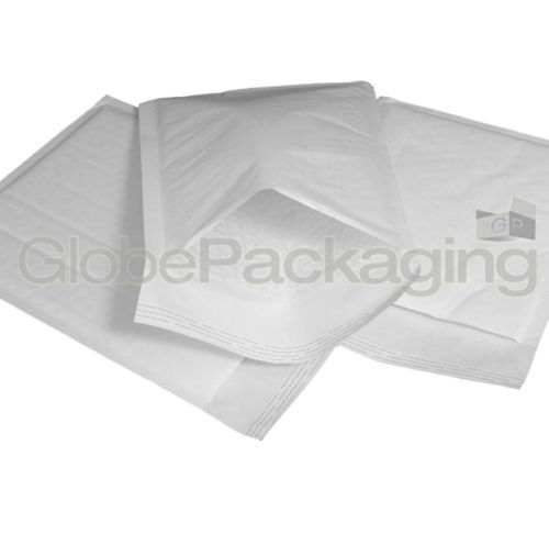 300 x D//1 WHITE PADDED BUBBLE BAGS ENVELOPES 170x245mm EP4