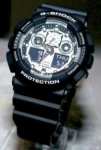 1edb76672 Image is loading Casio-G-Shock-White-and-Black-Men-039-