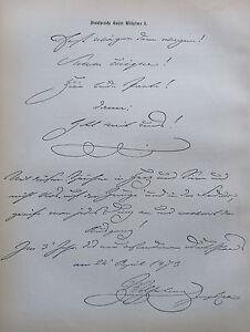 SINNSPRUCHE-KAISER-WILHELMS-I-alter-Druck-aus-ca-1897-old-print