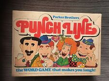 Vintage 1978 Parker Brothers PUNCH LINE Word Game - Complete!