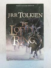 Tolkien THE LORD OF THE RINGS Houghton Mifflin 3 Vol. BOX SET 2001 Movie Tie-in