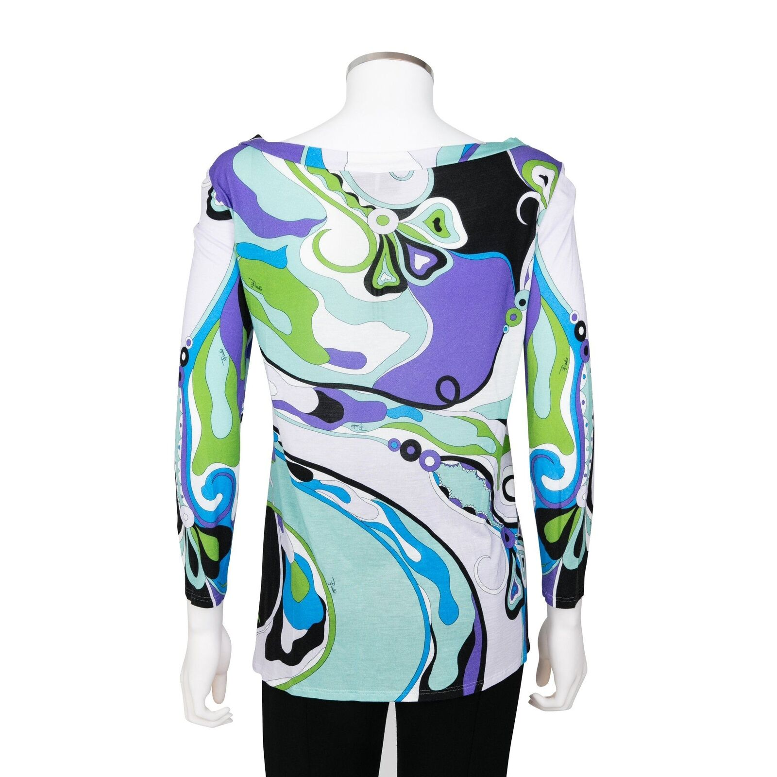 Emilio Pucci Top Multi-Colourot Long Sleeve Top Pucci - Größe 36 2543a5