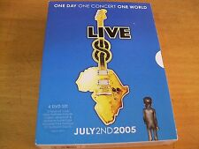 ONE CONCERT ONE WORLD LIVE 4 DVD PINK FLOYD U2 MADONNA STING BJORK REM COLDPLAY