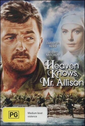 1 of 1 - Heaven Knows, MR. ALLISON (Deborah KERR Robert MITCHUM) Classic Film DVD Reg 4
