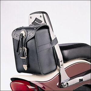 Leder-Tasche-fuer-Sissy-Bar-Suzuki-Intruder-M800-mit-Nieten