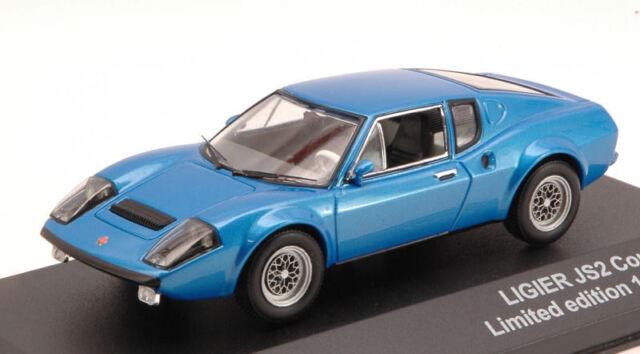 Ligier Js2 Coupe' 1972 Blue 1:43 Model TRIPLE 9