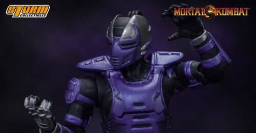 Mortal Kombat Smoke 1:12 Scale Action Figure NYCC 2019 Exclusive Cyber Ninja