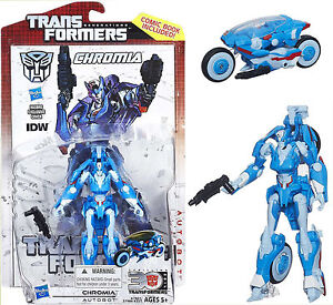 Transformers Generations Thrilling 30 Deluxe IDW Chromia Autobot