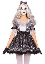 Doll Costume Medium Womens Gothic Porcelain Doll 3pc Set Halloween Leg Avenue