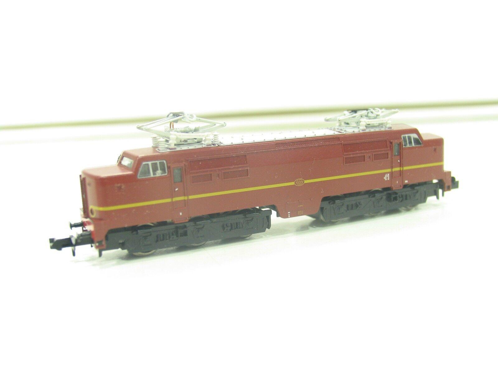 TRIX 12731 SPUR N  E-LOK SERIE 1222 brown der NS     NL25