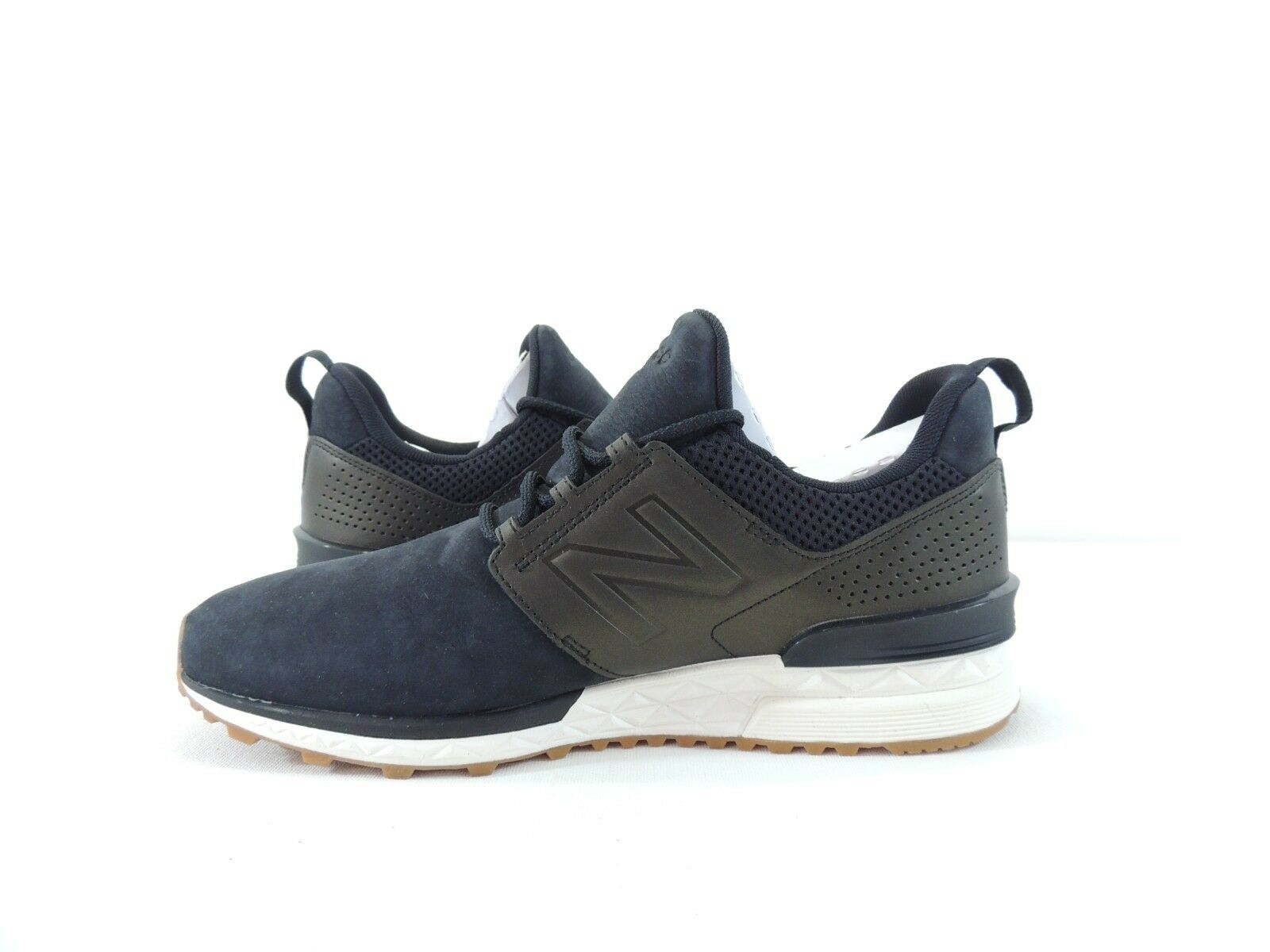 New New New Balance Womens Nubuck WS574DS Sneakers Athletic shoes Black gold Size 10 791d7a