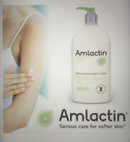 Amlactin Alpha Hydroxy Therapy Body Lotion Extra Dry Skin Huge 20 Oz