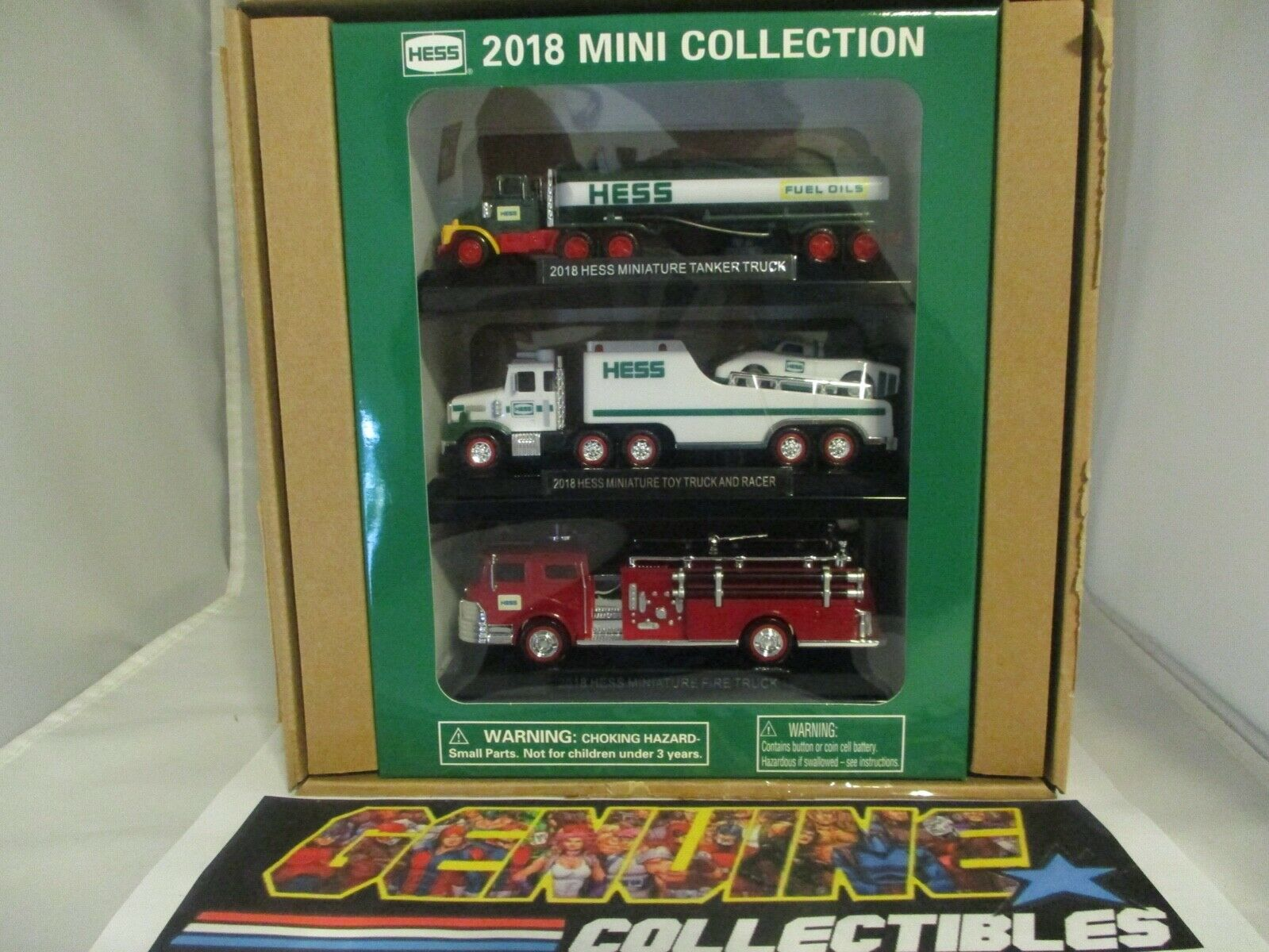 nuovo 2018 Hess MINI giocattolo TRUCK collezione completarely Sold Out at Hess Website
