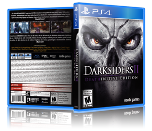 Darksiders II: Death-initive Edition - Replacement PS4 Cover and Case. NO GAME!!