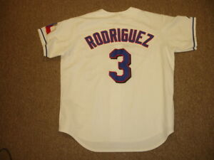 huge selection of 2eb56 400ea Details about Alex Rodriguez Texas Rangers Authentic Majestic Jersey #3 -  Adult size XL