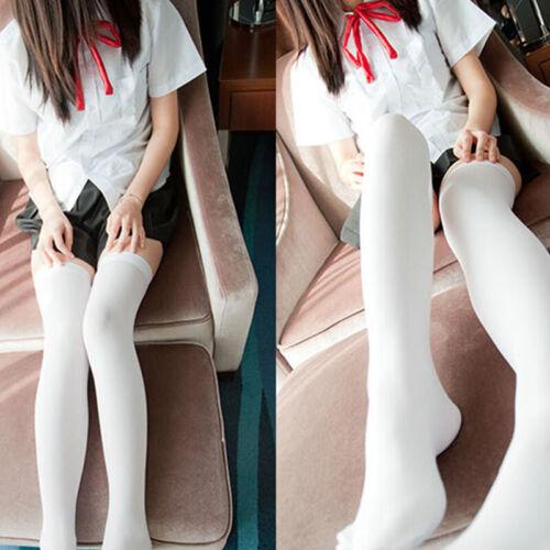 Frauen Lange Socken Strumpfhosen Über Knie Oberschenkel Hohe Strümpfe Bein