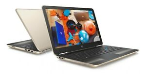HP-17-17-3-034-LED-Quad-Core-A12-3-6GHz-8GB-1TB-DVDRW-Radeon-R7-Laptop-SILK-GOLD