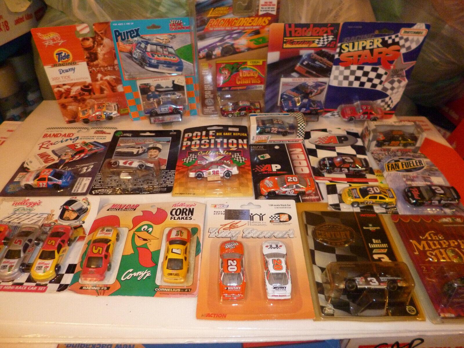 nuevo sádico Gran Lote Coleccion 20+ coches de coleccionista mixto 20+ 20+ 20+ Mix Racing Champions 1 64 Nuevo  compras online de deportes