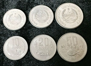 LAOS-LAO-SET-3-COIN-10-20-50-Att-1980-UNC