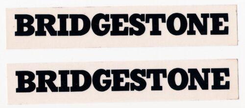 "SET OF 2 BRIDGESTONE LARGE STICKERS image measures 1/""x 10.125/"""