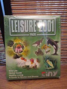 Leisure-2001-Pack-de-logiciel-CD-ROM-Herbal-Guide-vie-saine-NOUVEAU
