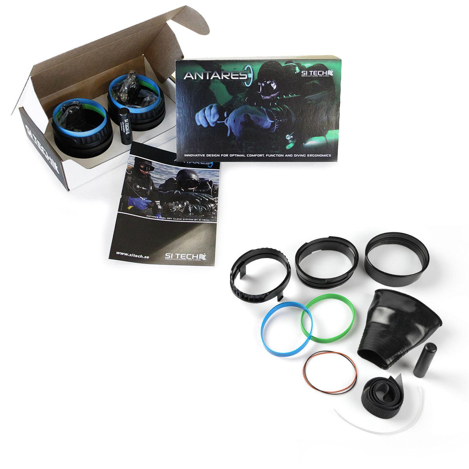 SI TECH TECH TECH Antares - Komplett Ringsystem (Oval ohne Handschuhe) 275efd