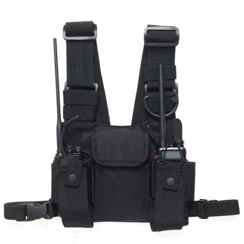 Men/'s Chest Bag Tactical Vest Chest Rig Bag Hip Hop Waistcoat waterproof Oxford