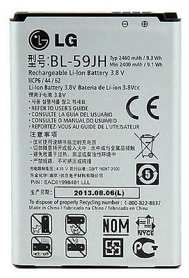 NEW OEM LG BL-59JH Optimus L7 II P710 L7X P714 Dual P715 P716 Original Battery