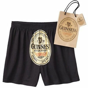 Guinness-Men-039-s-Boxers-with-Matching-Gift-Bag-Size-Sm-28-30-or-Med-32-34-NWT