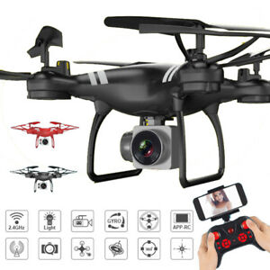 KY101 2.4G 4CH 6Axis RC UAV FPV Drone Wifi 2.0~3.0MP HD Cámara Quadcopter