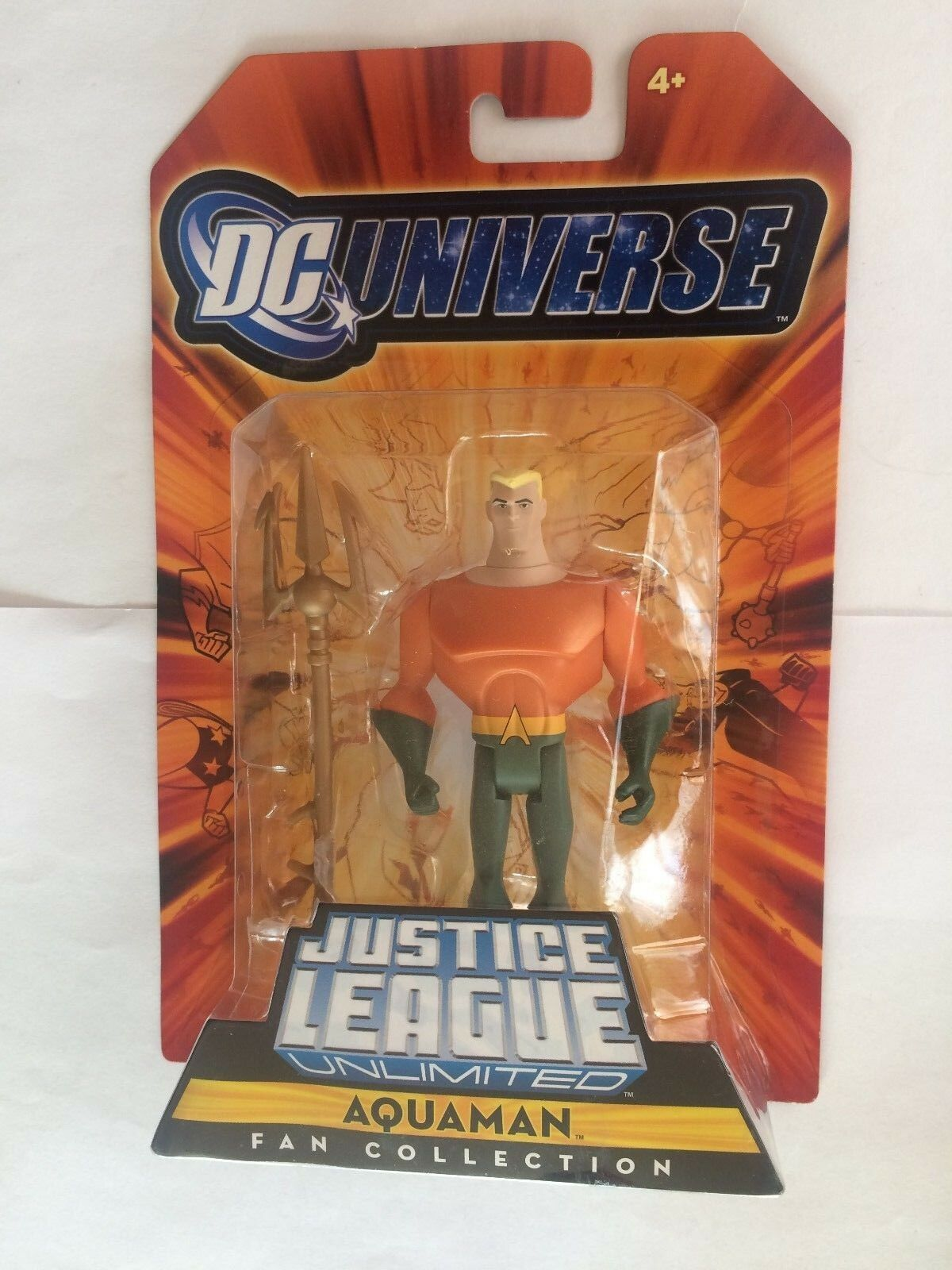 Mattel JLU Justice League Unlimited  SUPER FRIENDS AQUAMAN  MOC