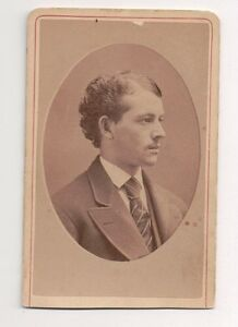 Vintage-CDV-Unknown-Young-Man-Cameo-Photo