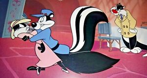 RARE WARNER BROS PEPE LE PEW KITTY SYLVESTER CARROTBLANCA LIMITED EDITION CEL