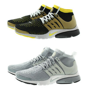 Nike 835570 Mens Air Presto Flyknit Ultra Mid Top Running Active ... ae862b192309e
