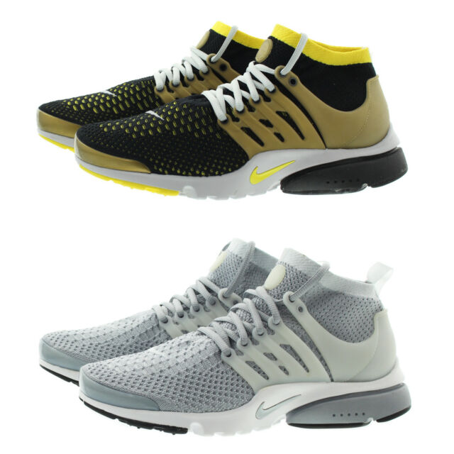 Nike 835570 Mens Air Presto Flyknit Ultra Mid Top Running Active Shoes Sneakers
