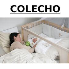 CUNA COLECHO +COLCHÓN +ROPA +RUEDAS +DOSEL +NORDICO / MOON gris2 **NUEVA**