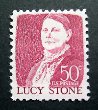 Sc # 1293 ~ 50 cent Lucy Stone Issue (ba16)