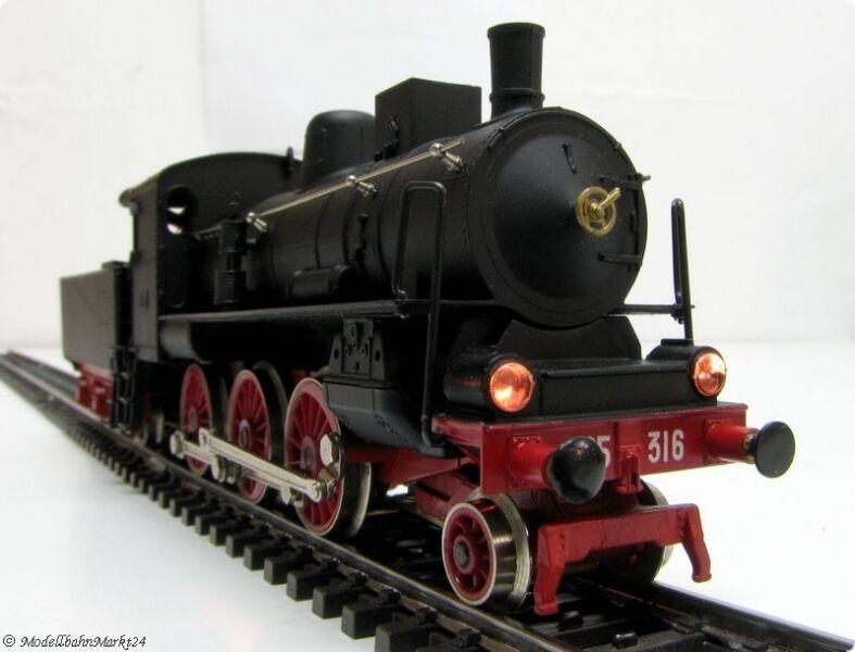 Rivarossi 1120 FS máquina de vapor 625 316 transformación época 2 3l =