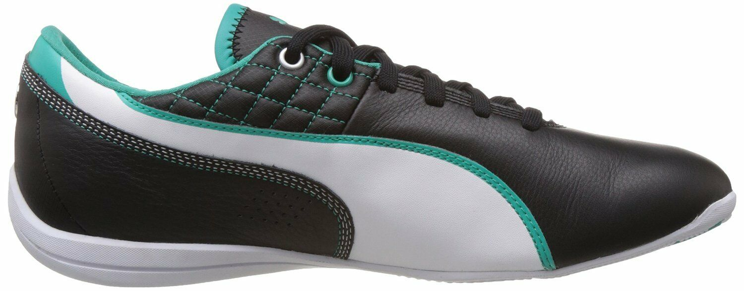 PUMA DRIFT CAT 6 MAMGP MERCEDES-BENZ  leather black-white-spactra green size 9US