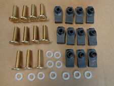 John Deere M 320 330 40 420 430 bolt fastener hood kit set, AIRLOC screws