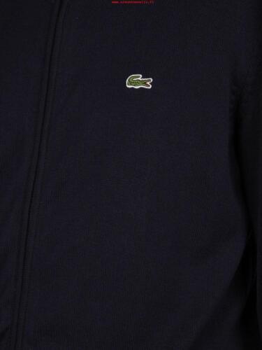 farine Fullzip 100 Cotone Marine Blu Lacoste Uomo Cardigan Art Ah4085 Hhw zwPxRxdpq