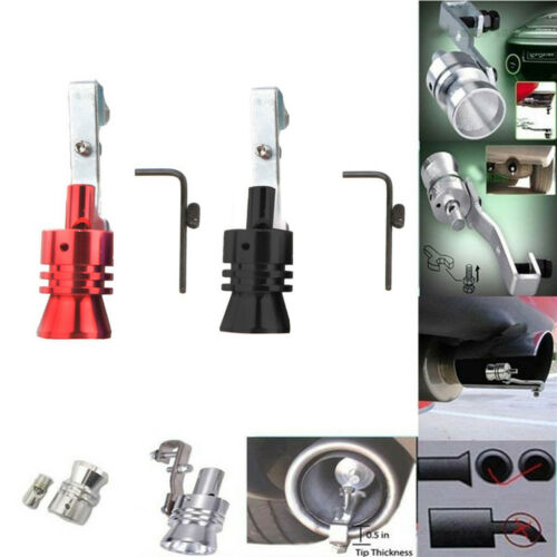 Exhaust Pipe Oversized Roar Maker Car Exhaust Pipe Loud Whistle Sound Maker *2PC