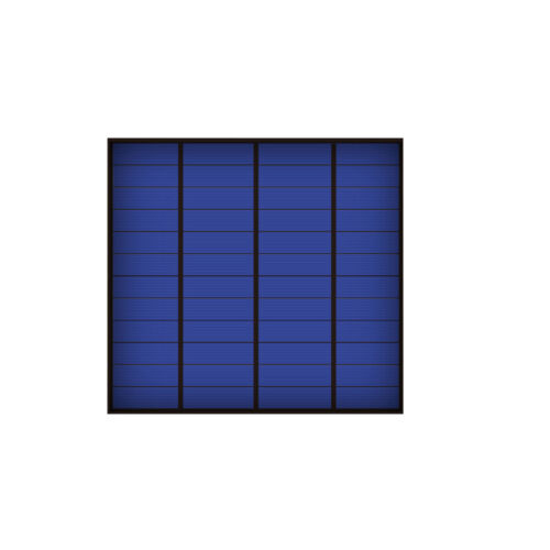 12 V 250 mA 3 W Panneau Solaire Standard époxy silicium polycristallin À faire soi-même Cell
