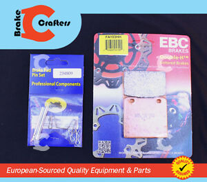 1988 - 1991 SUZUKI VS 750 INTRUDER - FRONT EBC HH BRAKE PADS & PINS - 1 PAIR