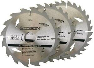 Saw-Blade-16-24-amp-30T-160Mm-Dia-Pack-of-3-436755