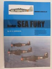Warpaint 16 - Hawker Sea Fury - Color Profiles, Line Drawings, BW Photo