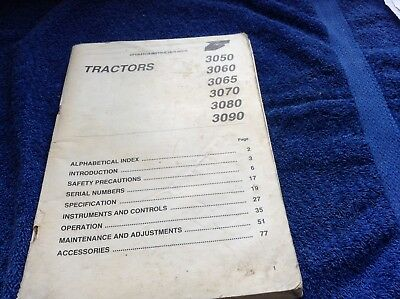 Other Tractor Publications Considerate Mf 3000 Series Operators Manual Agriculture/farming