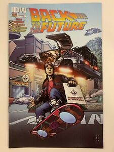 IDW-BACK-TO-THE-FUTURE-1-FORBIDDEN-PLANET-EXCLUSIVE-COVER-NM-CONDITION
