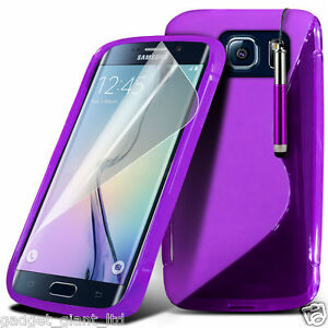 outlet store 9f767 68c22 Details about Samsung Galaxy S7 Edge S Line Wave Gel Skin Case Cover  Plastic Flexible Pouch